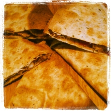 Five Spice Quesadillas - delicious with or without meat!