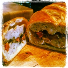 Sausage & Chorizo Roll - perfect hot or cold!